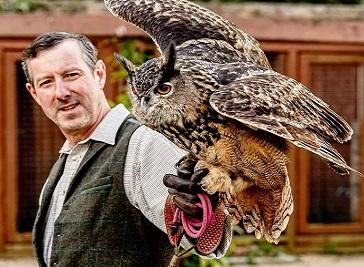 Jersey Falconry Richard Hall