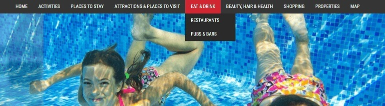 Drop Down menus Advertise with us What's on in Jersey